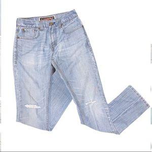 Levi's Skinny 511 Distressed Jeans